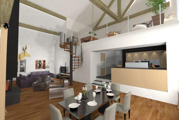 3D Architecture intérieur Haute Savoie