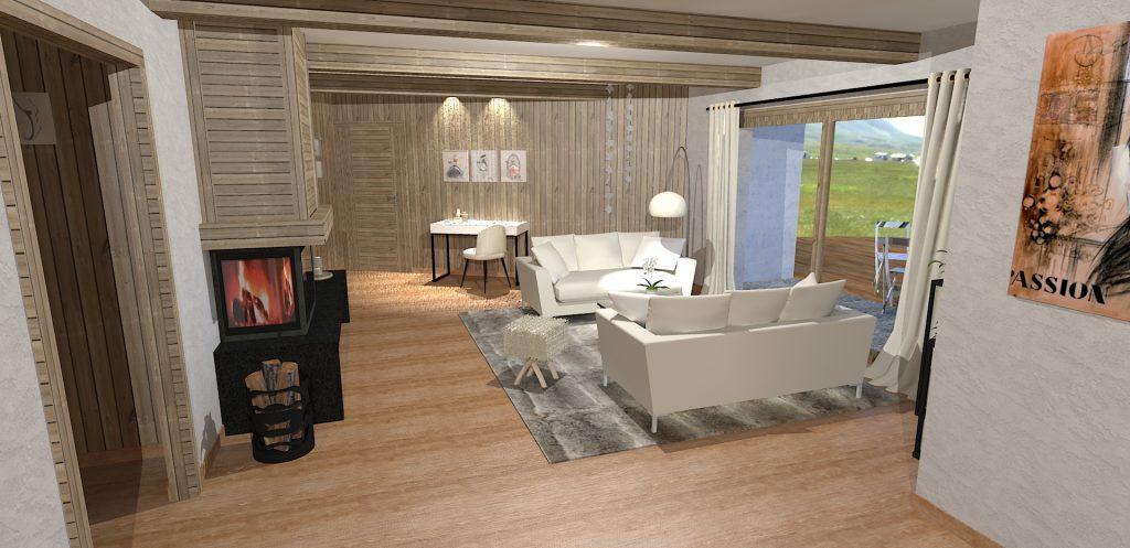 Best amenagement chalet gallery for Amenagement interieur chalet