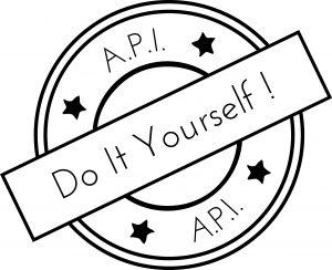 logo API tampon DIY