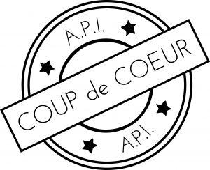 logo API tampon coup de coeur