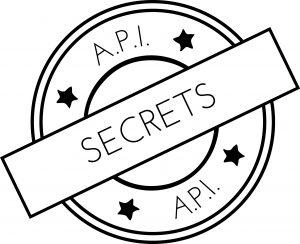logo API tampon secrets