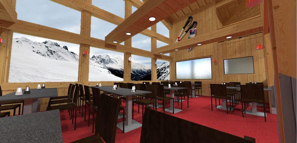 Rénovation restuarant haute Savoie