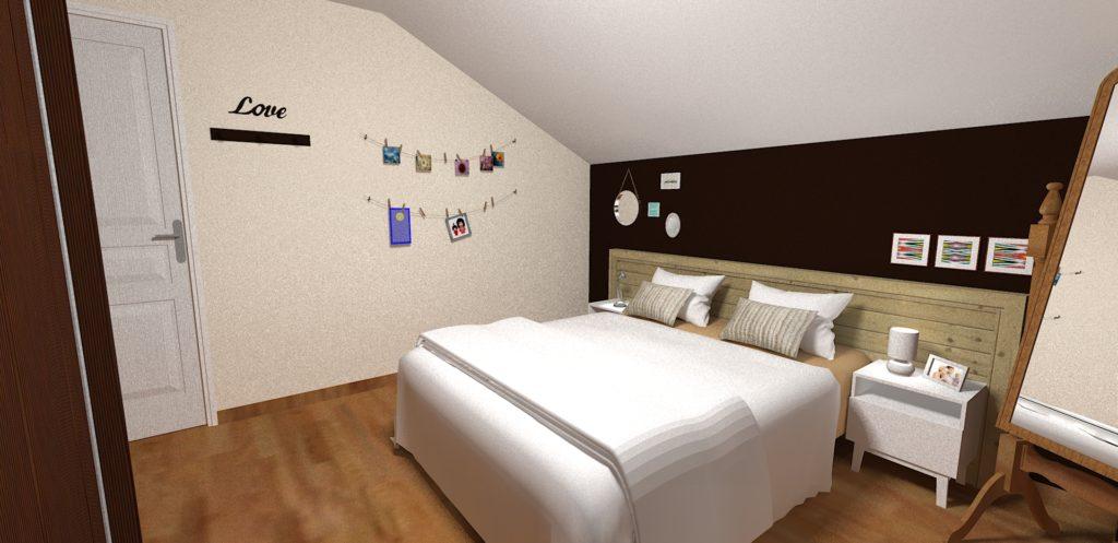 d coration chambre parentale passy d co chambre marron. Black Bedroom Furniture Sets. Home Design Ideas