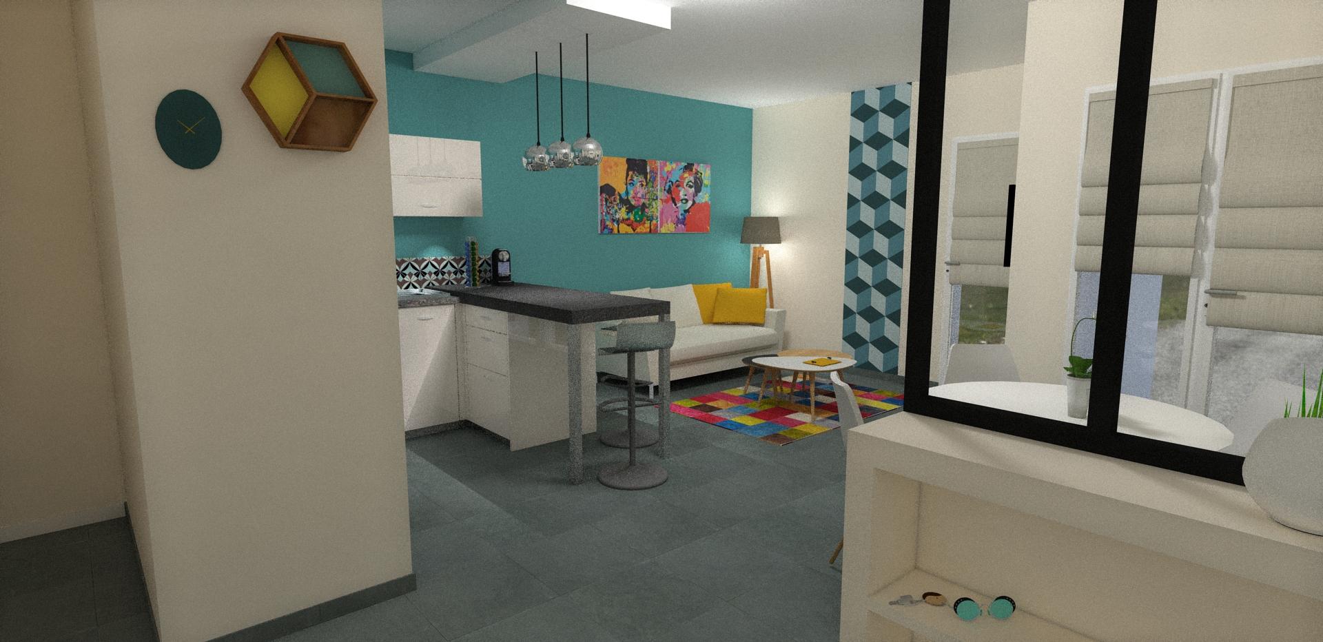 son premier appartement valence f vrier 2016 aura. Black Bedroom Furniture Sets. Home Design Ideas