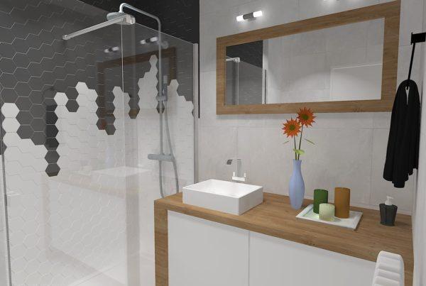 Salle de bains à Reignier