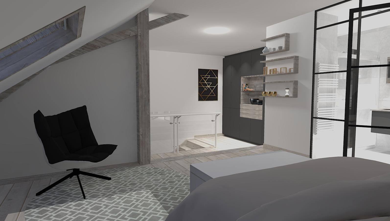 Aménagement chambre Boëge