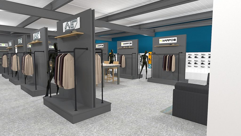 Agencement showroom Annecy
