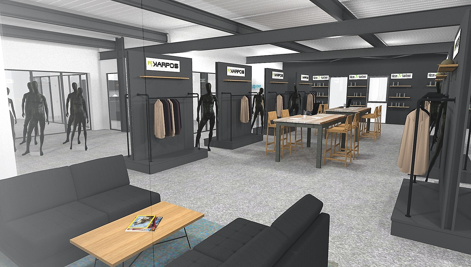 Agencement magasin Annecy