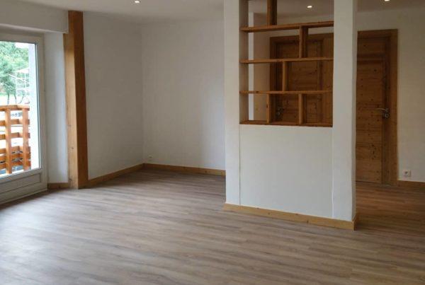 rénovation appartement servoz